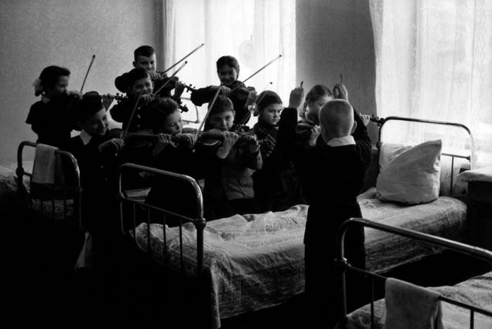Музыкальная школа в Одессе, 1962 год.