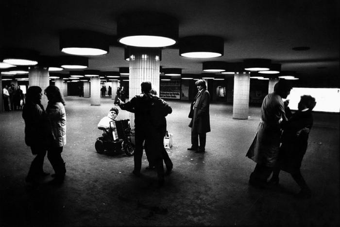 Подземка в Берлине, 1983 год.
