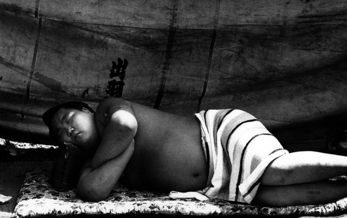 Молодой сумоист, 1961 год.
