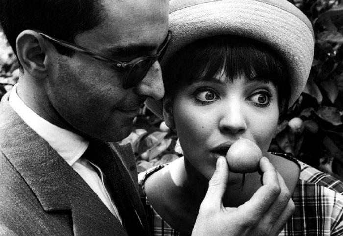 Жан-Люк Годар и его жена Анна-Карина. Берлин, 1961 год.