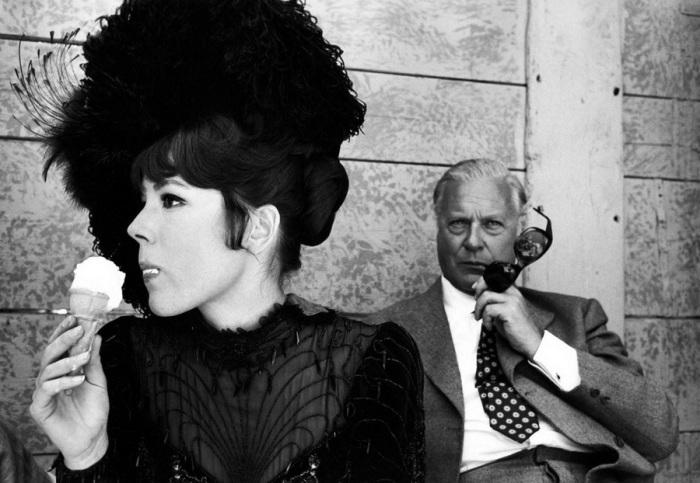 Диана Ригг и Курт Юргенс, 1968 год.