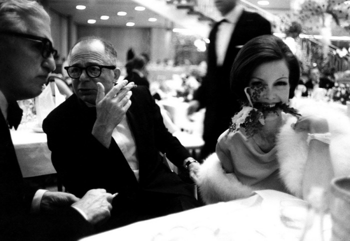 Билли Уайдлер со своей женой Одри. Берлин, 1961 год.