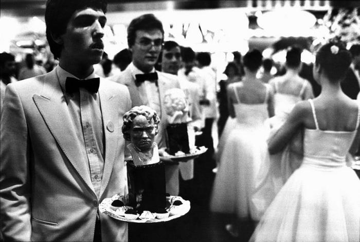 Бетховен на десерт, 1983 год.