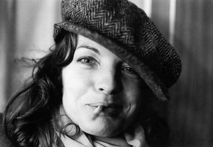 Роми Шнайдер. Берлин, 1976 год.