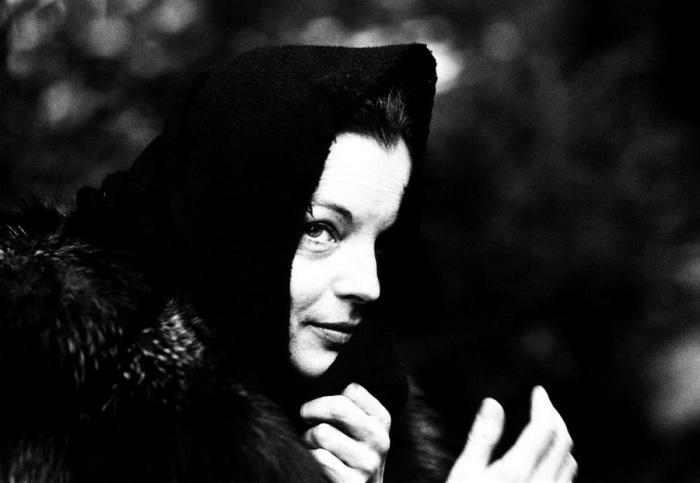 Роми Шнайдер. Австрия, 1976 год.