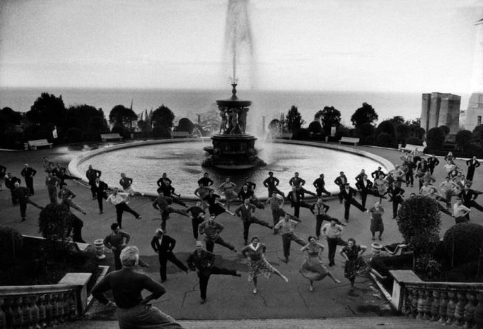 Утренняя зарядка в Сочи, 1962 год.