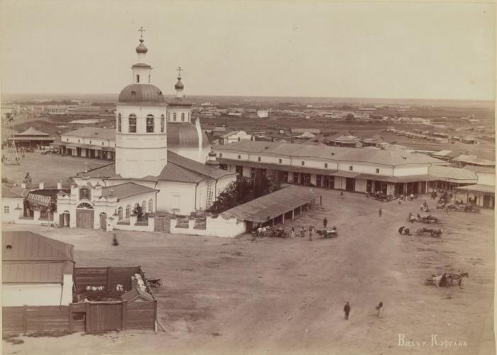 Соборная церковь во имя Святой Живоначальной Троицы. Россия, Курган, 1895 год.