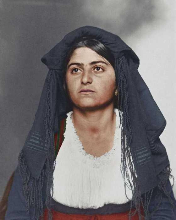 Итальянка, эмигрировавшая в Америку в 1910 году.