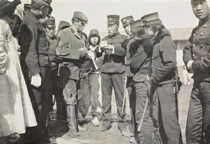 Арест Джека Лондона в Корее в 1904 году.