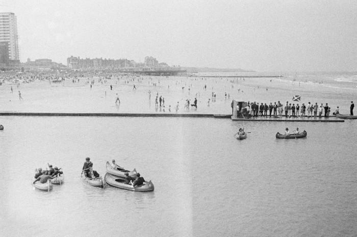 Пляж в Херн-Бей. Великобритания, 1963 год.