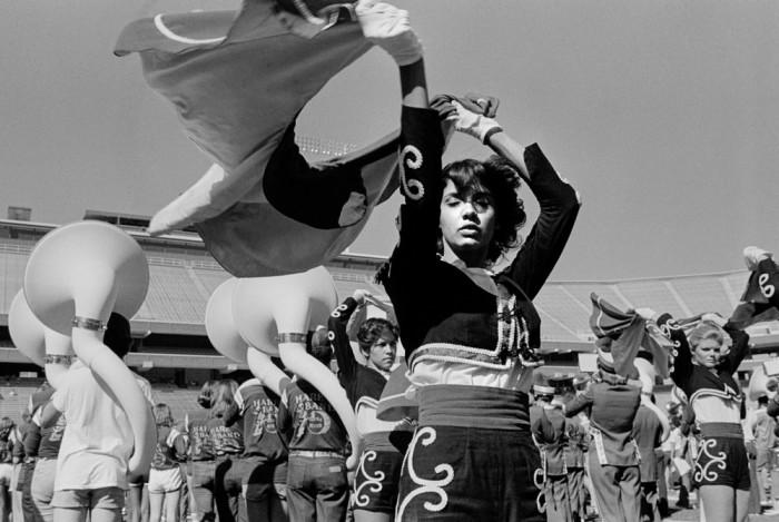 Генеральная репетиция группы поддержки. США, Аризона, 1979 год.