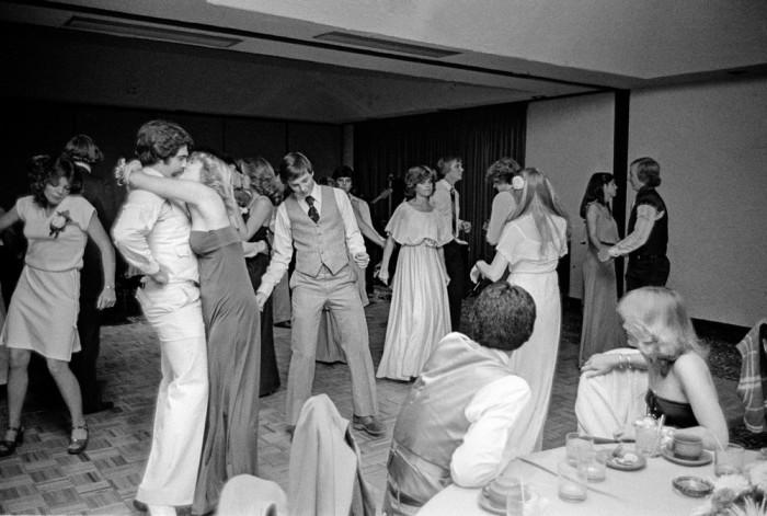 Выпускной вечер в университете. США, Аризона, 1979 год.