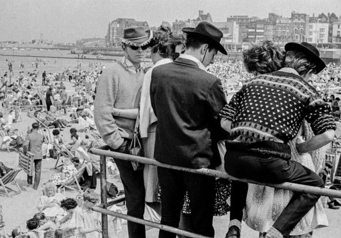 Наиболее посещаемый пляж в Великобритании, 1963 год.