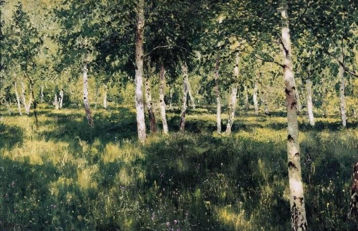 Картина русского художника Исаака Левитана, написанная в 1885-1889 годах.