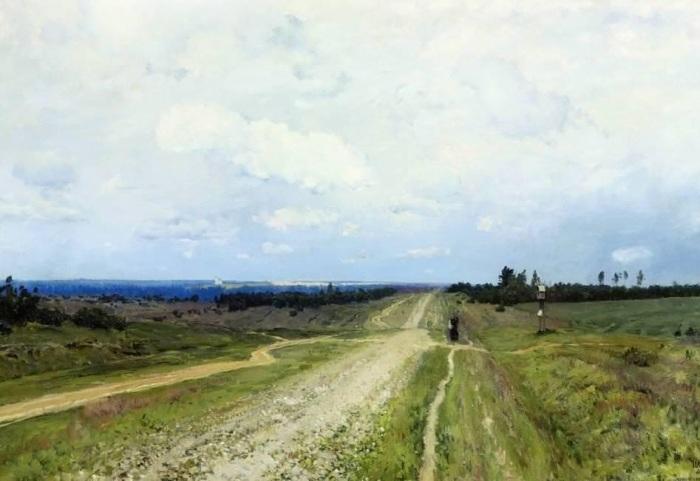 Работа русского художника Исаака Левитана, написанная в 1892 году.