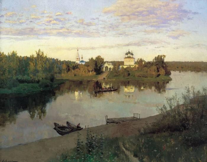 Картина русского художника Исаака Левитана, написанная в 1892 году.