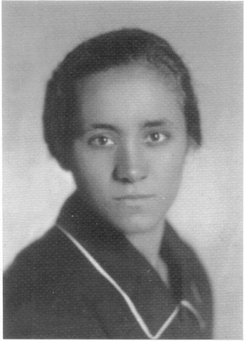 Мать Тереза в юности.