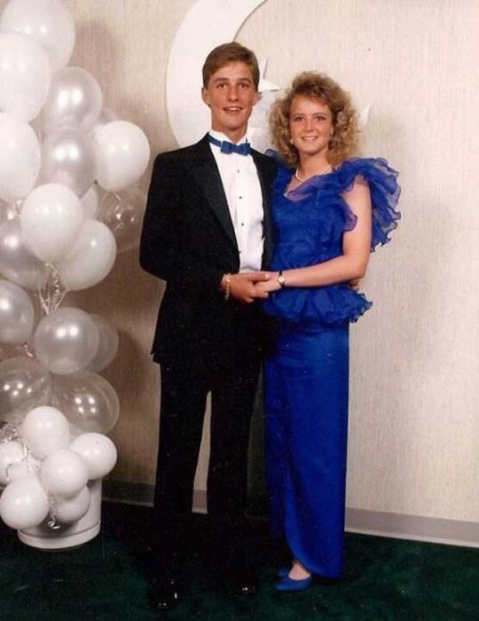 Мэттью Макконахи на своем выпускном балу.