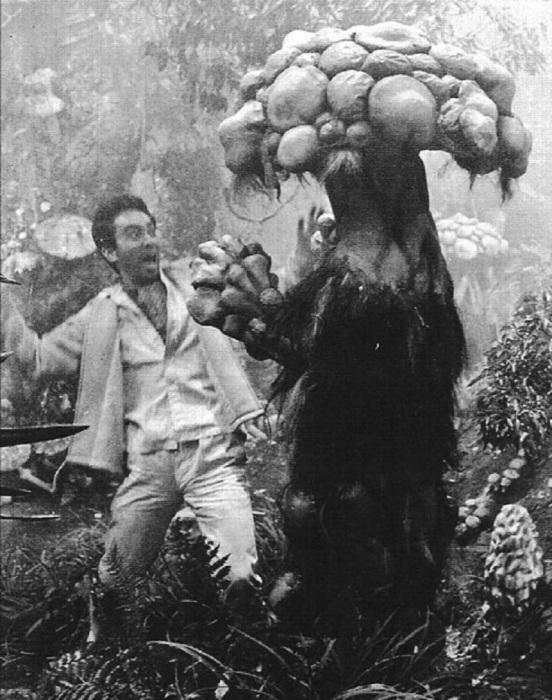 «Нападение людей-грибов».