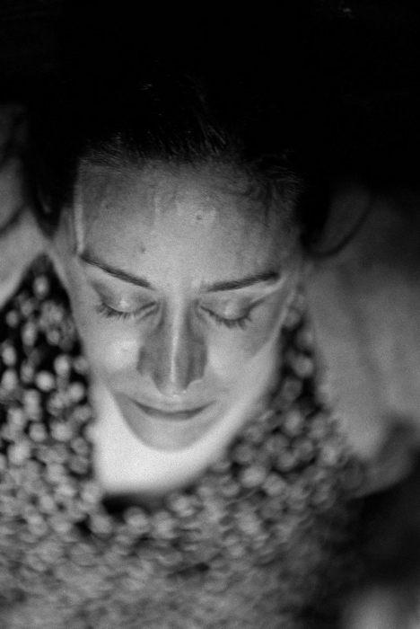 Британская актриса Джанет Мактир в пьесе Джона Вебстера. Великобритания, Королевский национальный театр, Лондон, 2003 год.