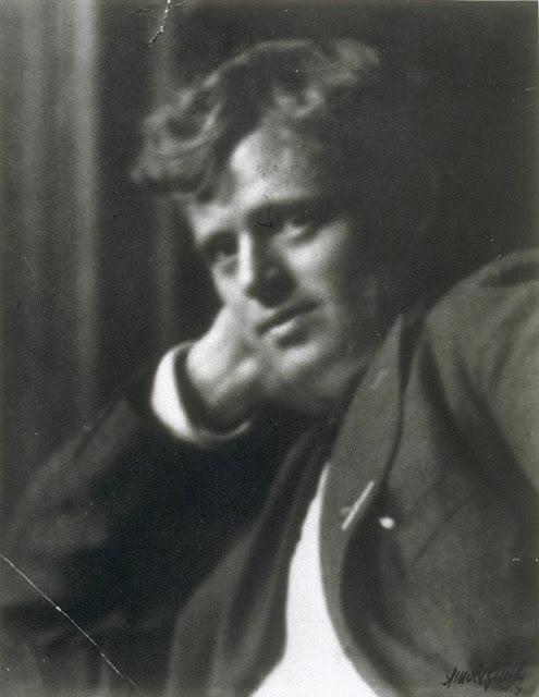 Портретная фотография Джека Лондона, сделанная легендарным Арнольдом Генте.