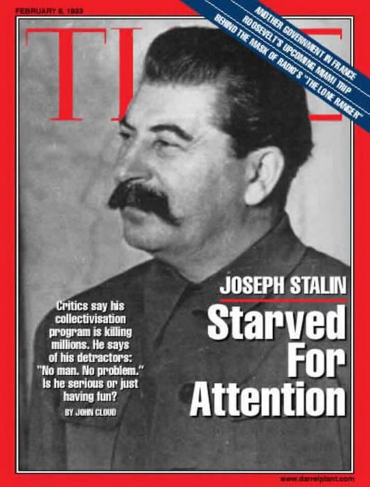 Иосиф Виссарионович Сталин был признан Человеком года по версии Time в 1939 году.