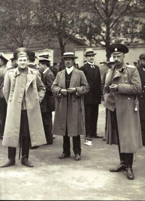Призыв на военную службу. Россия, Петроград, 1914 год.