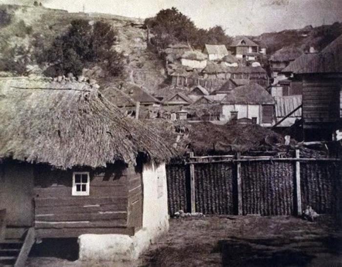 Казачьи дома. Россия, 1875 год.