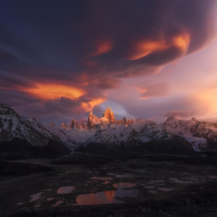 «Тучи сгущаются над Южной Америкой». Автор фотографии: Сяо Чжу, Китай.