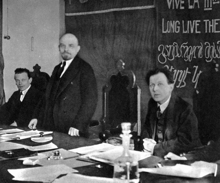 Первый учредительный конгресс Коммунистического интернационала.