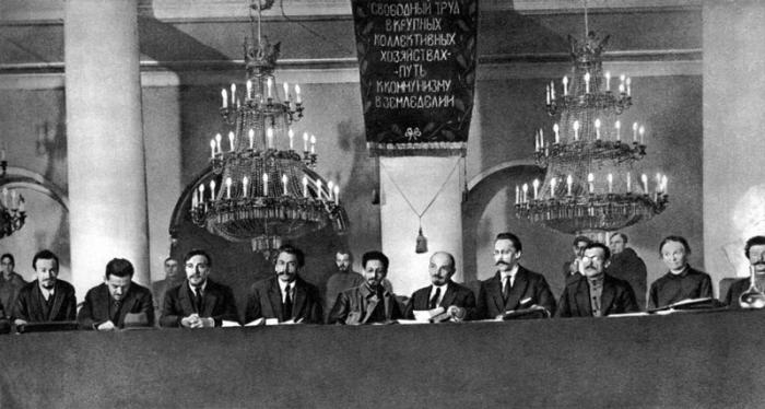 Всероссийский съезд земельных отделов, комитетов бедноты и сельско-хозяйственных коммун.