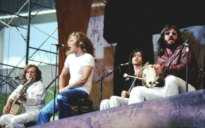 Led Zeppelin, 1977 год. Автор фотографии: Гари Морган.