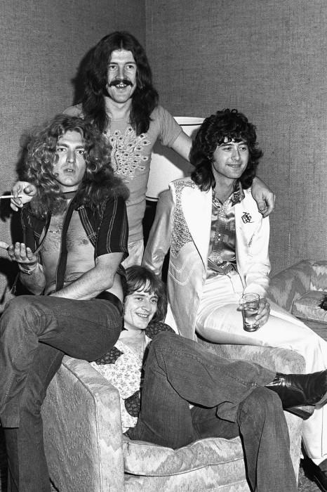 Led Zeppelin, 1973 год. Автор фотографии: Джеймс Фортуна.
