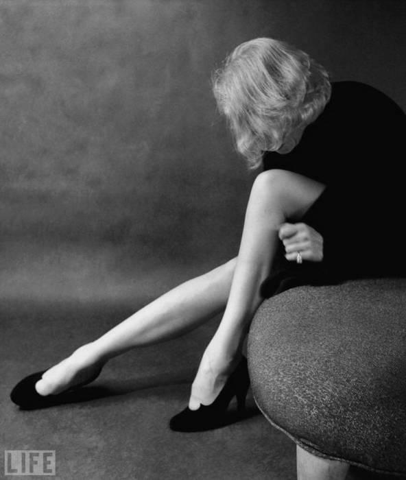 Талантливая актриса, которая представила миру множество незабываемых кинематографических образов. Автор фото: Милтон Грин, 1952 год.