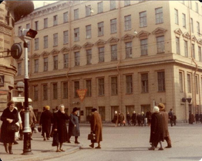 Исторический центр. СССР, Ленинград, 1976 год.