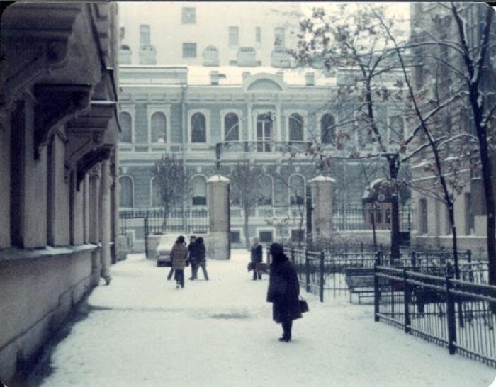 Резиденция генерального консула США. СССР, Ленинград, 1976 год.