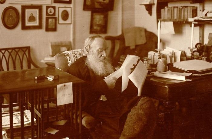 Фотографии из жизни Льва Николаевича Толстого.