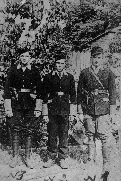Сотрудники охранной полиции «шуцманшафт».