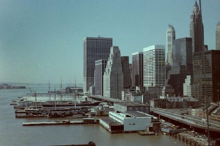 Исторический центр Нью-Йорка. США, 1980-е годы.