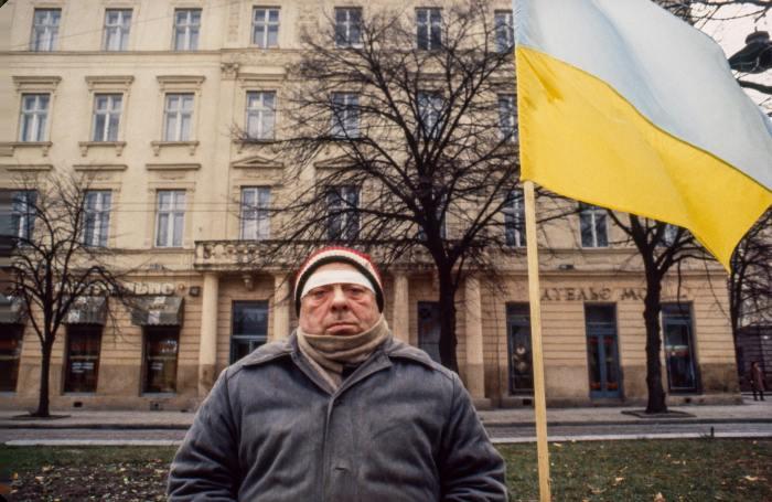 Патриот. СССР, Львов, 1990 год.
