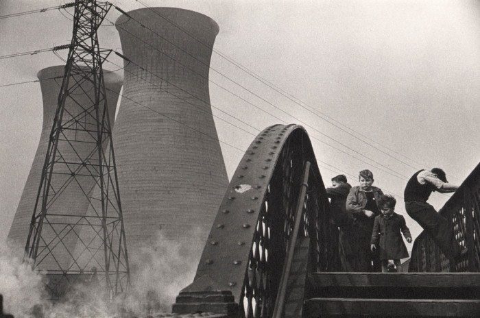 Атомный комплекс, расположенный на побережье Ирландского моря. Англия, Лондон, 1954 год.