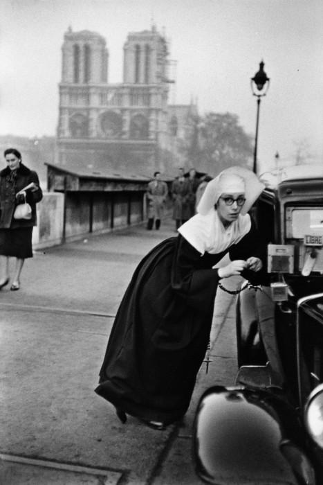 Франция, Париж, 1953 год.