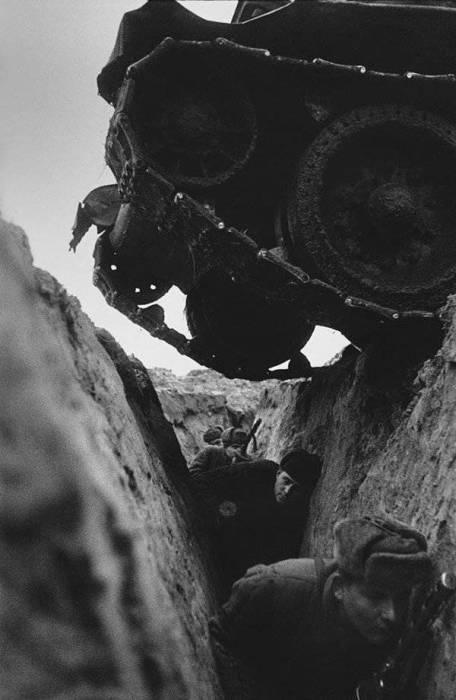 Начало наступление на Курской дуге.