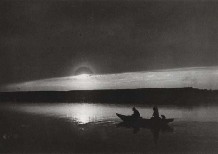 Закат. Венгрия, Эстергом, 1917 год.