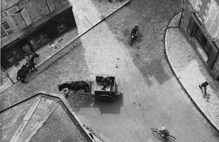 Гениальные случайности мастера фотографии Андре Кертеcа.