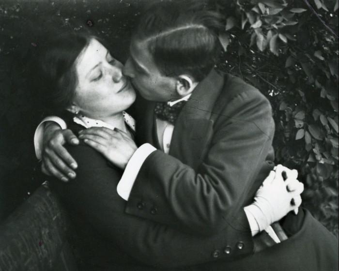 Влюблённые. Венгрия, Будапешт, 1915 год.