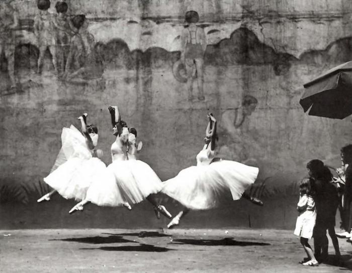 Уличный балет. США, Нью-Йорк, 1938 год.