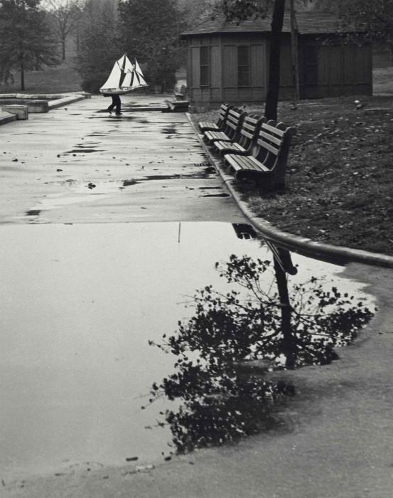 Сборная модель корабля из дерева. США, Нью-Йорк, 1944 год.