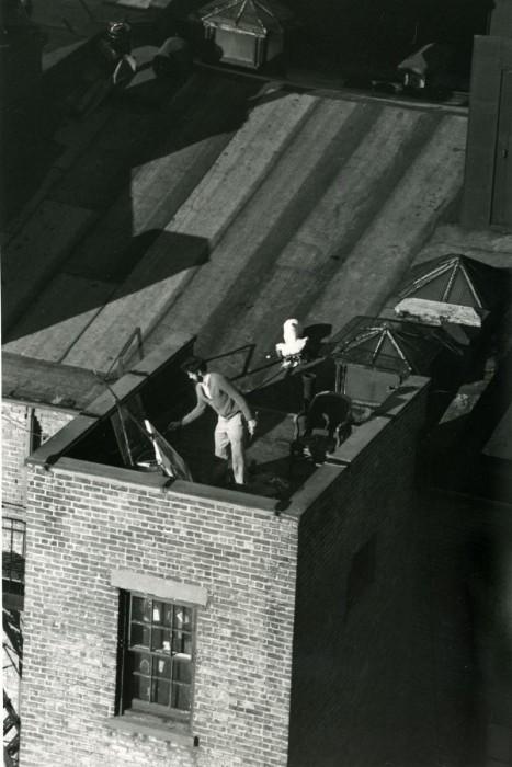 Нью-Йоркский художник. США, Нью-Йорк, 1977 год.