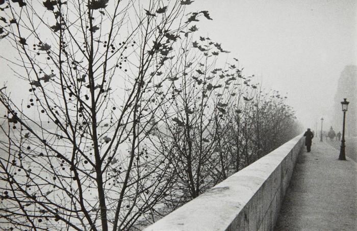 Набережная ранним утром. Франция, Париж, 1929 год.
